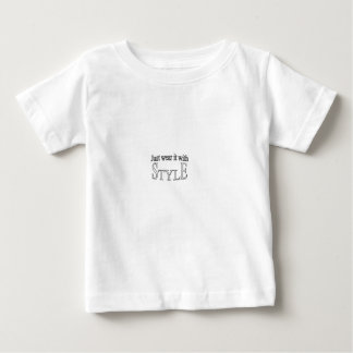 Just wear with STYLE1.ai Baby T-Shirt