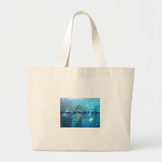 Just when you thought it was safe...Bag Large Tote Bag