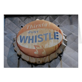 Just Whistle Card