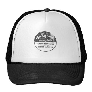 Just  Your Fool Stone Crazy Records Trucker Hat