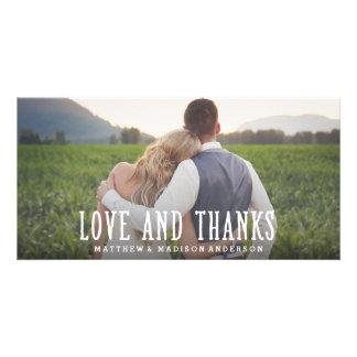 Juste carte photo l'épousant marié de Merci de | Carte Avec Photo