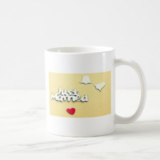 Juste marié mug blanc