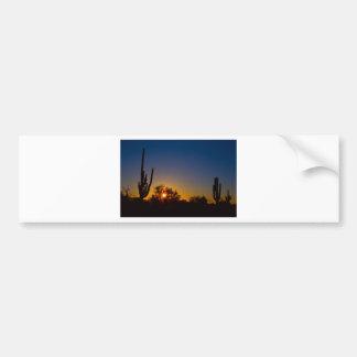 Juste un autre désert Sunrise.jpg de Sonoran Autocollant De Voiture