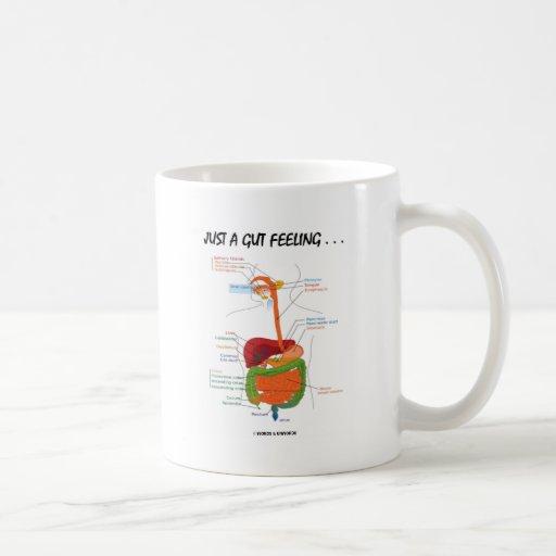 Juste un sentiment d'intestin… (Humour d'appareil  Tasse À Café