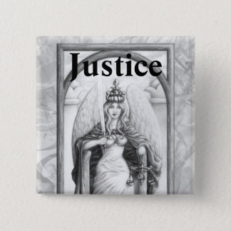 Justice 2 Inch Square Button