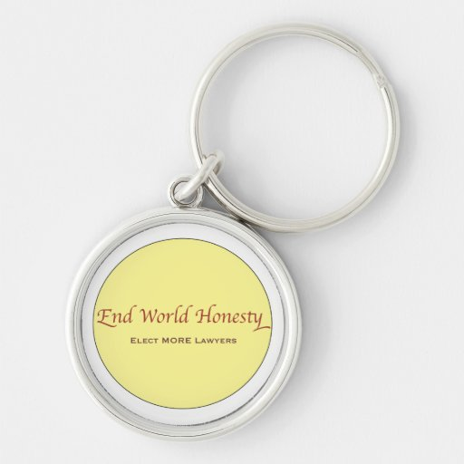 Justice and politics  Lawyers Keychain