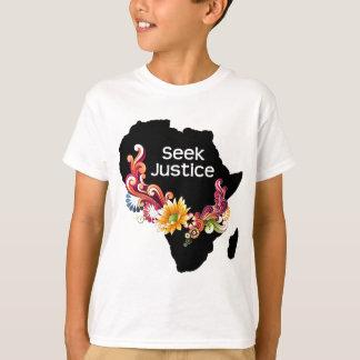Justice de recherche t-shirt