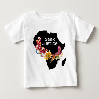 Justice de recherche t-shirt pour bébé
