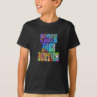 Justice des travaux de paix t-shirt