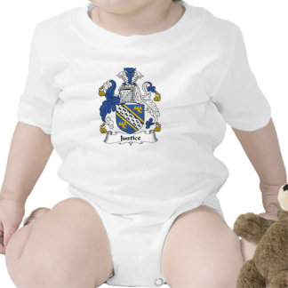 Justice Family Crest Bodysuits