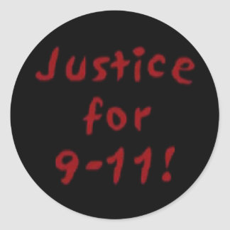 Justice for 9-11 Sticker