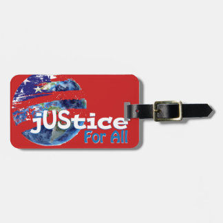 Justice for All Luggage Tag