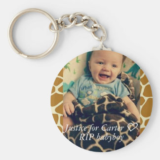 Justice for Carter keychain