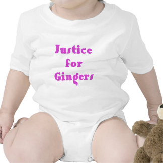 Justice for Gingers Tshirts