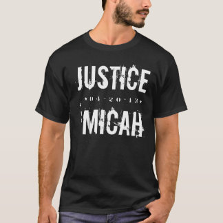JUSTICE FOR MICAH T-SHIRT