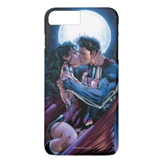 Justice League #12 Wonder Woman & Superman Kiss iPhone 8 Plus/7 Plus Case