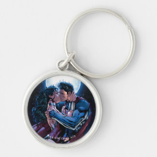 Justice League #12 Wonder Woman & Superman Kiss Keychain