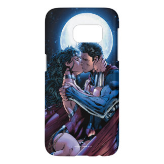 Justice League #12 Wonder Woman & Superman Kiss Samsung Galaxy S7 Case