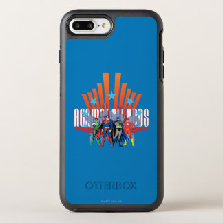 """Justice League """"Against All Odds"""" OtterBox Symmetry iPhone 7 Plus Case"""