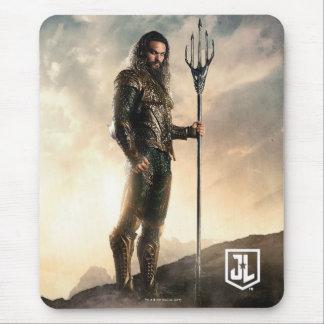 Justice League | Aquaman On Battlefield Mouse Pad