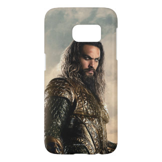 Justice League | Aquaman On Battlefield Samsung Galaxy S7 Case