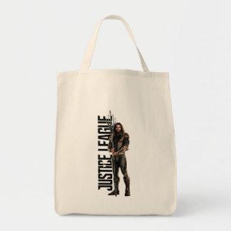 Justice League | Aquaman On Battlefield Tote Bag