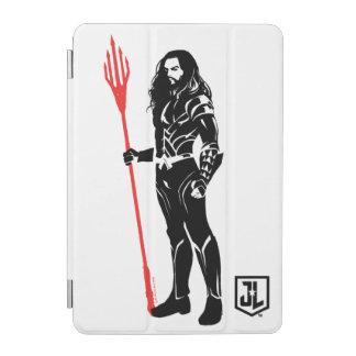 Justice League   Aquaman Pose Noir Pop Art iPad Mini Cover