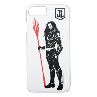 Justice League | Aquaman Pose Noir Pop Art iPhone 8/7 Case