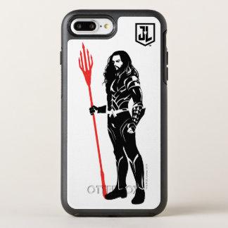 Justice League | Aquaman Pose Noir Pop Art OtterBox Symmetry iPhone 8 Plus/7 Plus Case