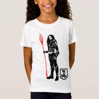 Justice League | Aquaman Pose Noir Pop Art T-Shirt