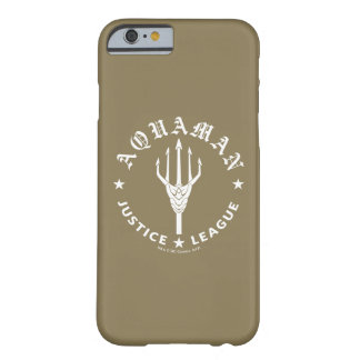 Justice League | Aquaman Retro Trident Emblem Barely There iPhone 6 Case