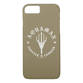 Justice League | Aquaman Retro Trident Emblem Case-Mate iPhone Case