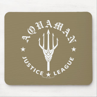 Justice League | Aquaman Retro Trident Emblem Mouse Pad