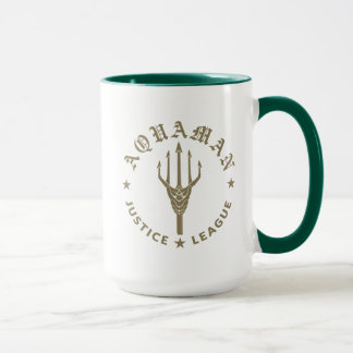 Justice League | Aquaman Retro Trident Emblem Mug