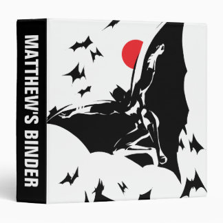 Justice League | Batman in Cloud of Bats Pop Art Binder