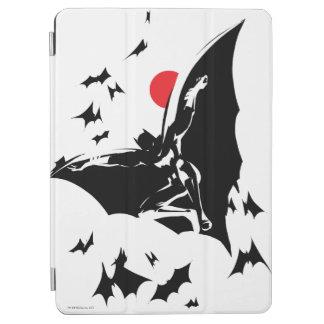 Justice League | Batman in Cloud of Bats Pop Art iPad Air Cover