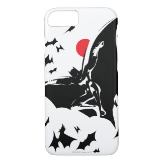 Justice League | Batman in Cloud of Bats Pop Art iPhone 8/7 Case