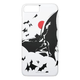 Justice League   Batman in Cloud of Bats Pop Art iPhone 8 Plus/7 Plus Case