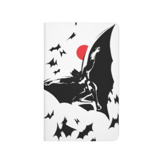 Justice League | Batman in Cloud of Bats Pop Art Journal