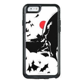Justice League   Batman in Cloud of Bats Pop Art OtterBox iPhone 6/6s Case