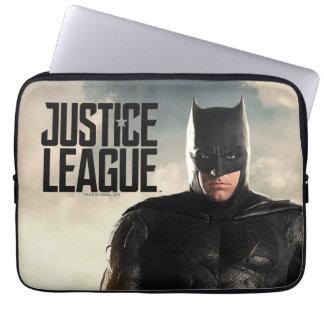 Justice League | Batman On Battlefield Laptop Sleeve