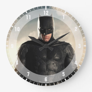 Justice League | Batman On Battlefield Large Clock