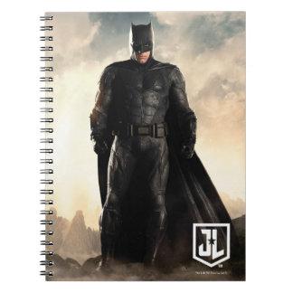 Justice League   Batman On Battlefield Notebook