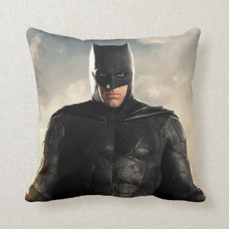 Justice League | Batman On Battlefield Throw Pillow