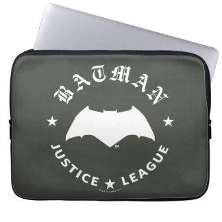 Justice League | Batman Retro Bat Emblem Laptop Sleeve