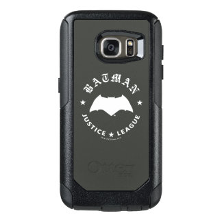 Justice League | Batman Retro Bat Emblem OtterBox Samsung Galaxy S7 Case