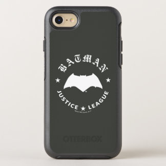 Justice League | Batman Retro Bat Emblem OtterBox Symmetry iPhone 8/7 Case