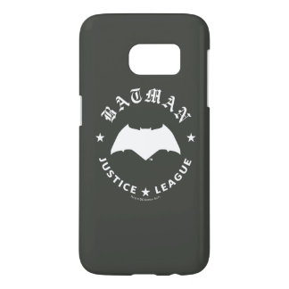 Justice League | Batman Retro Bat Emblem Samsung Galaxy S7 Case