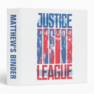 Justice League | Blue & Red Group Pop Art Binders