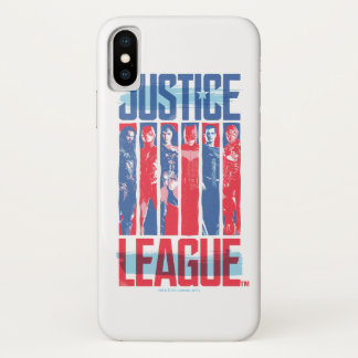 Justice League | Blue & Red Group Pop Art Case-Mate iPhone Case